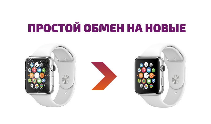 обмен apple watch на новые